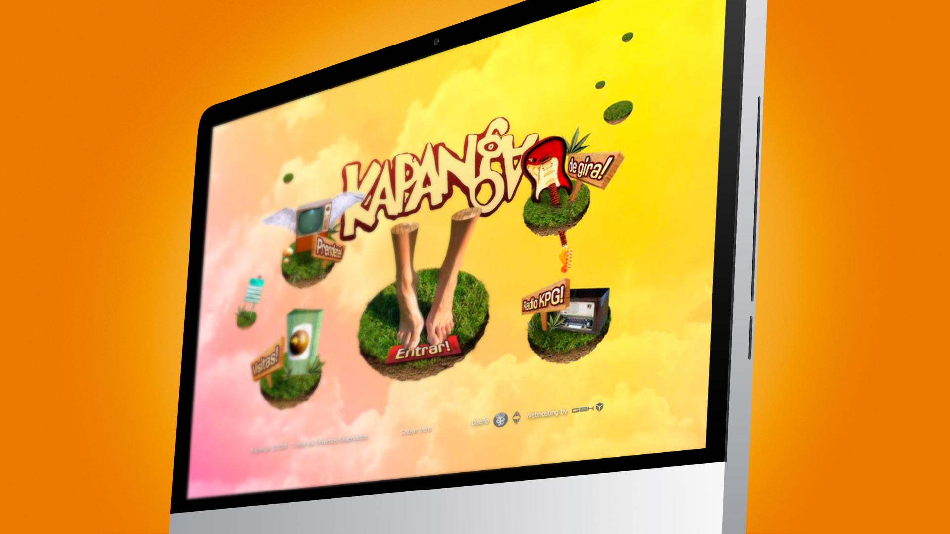 Kapanga - Website