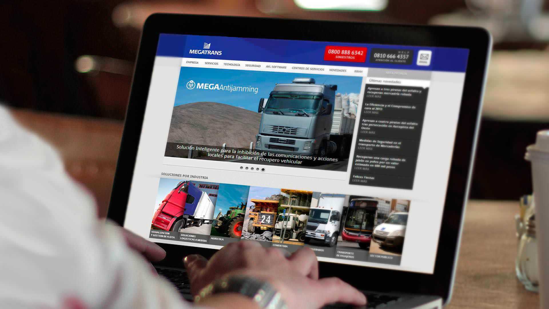 Megatrans - Website